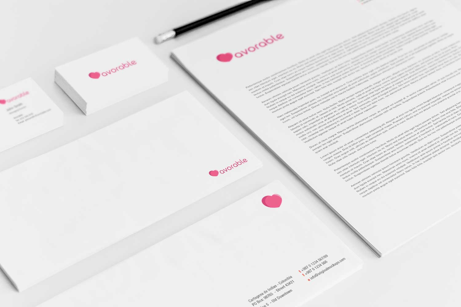 Sample branding #3 for Avorable