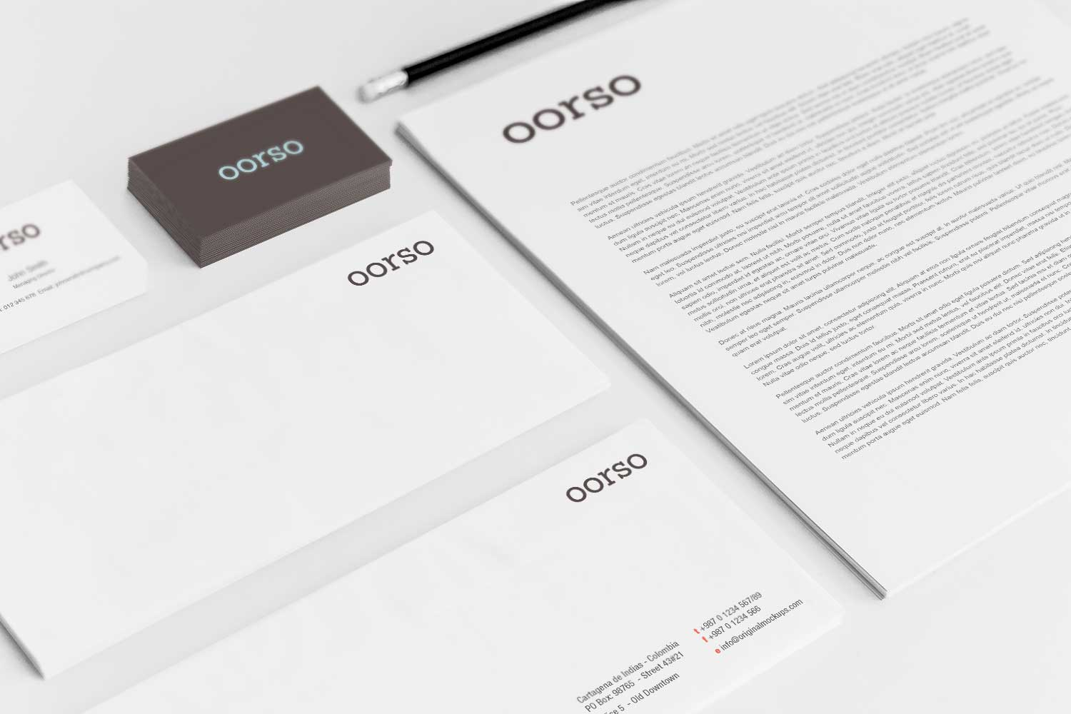 Sample branding #3 for Oorso