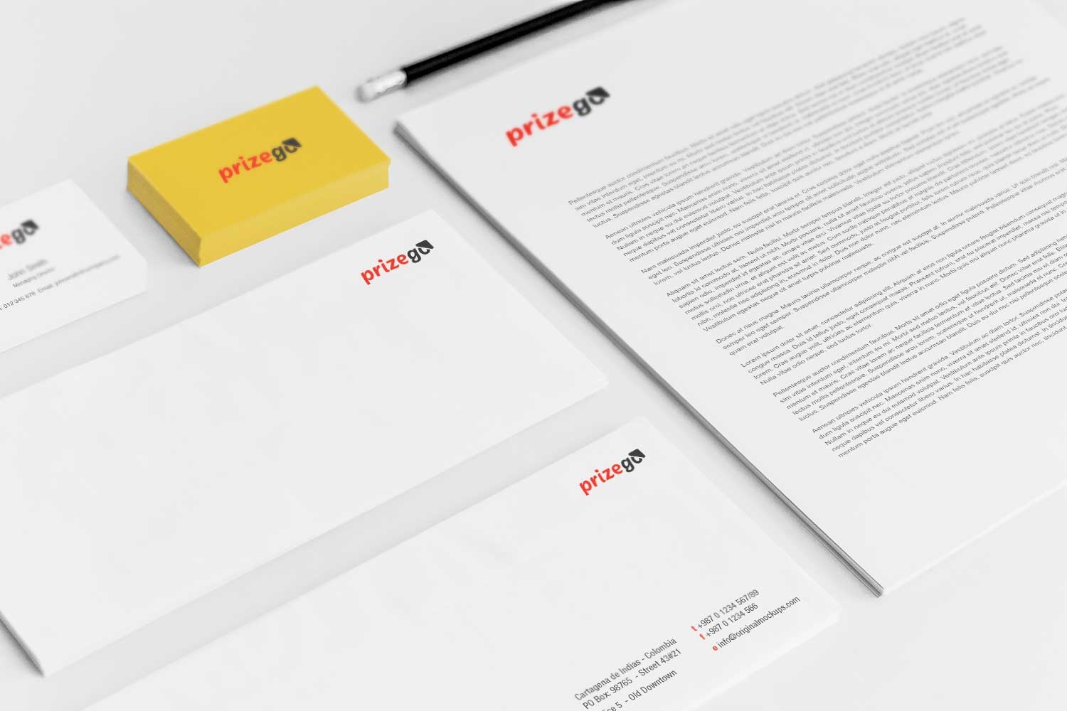 Sample branding #3 for Prizego