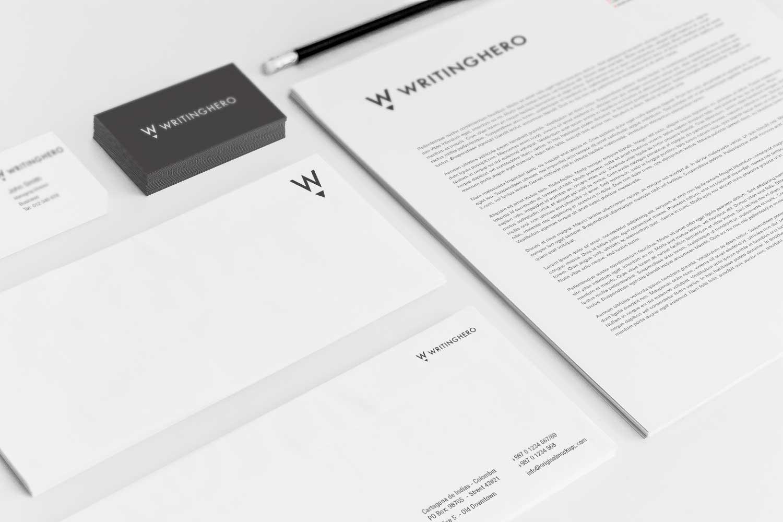 Sample branding #2 for Writinghero