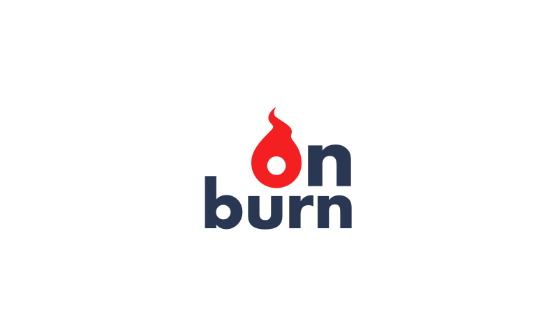 onburn logo - Business name for a company in the sports industry