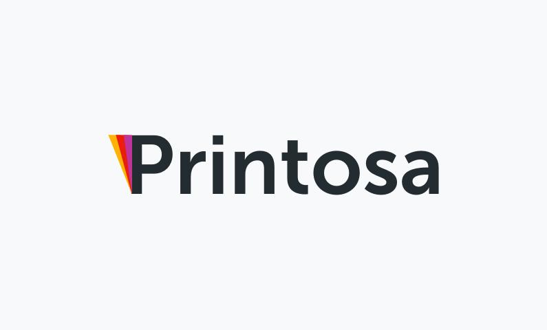 Printosa - Perfect name for a printing company