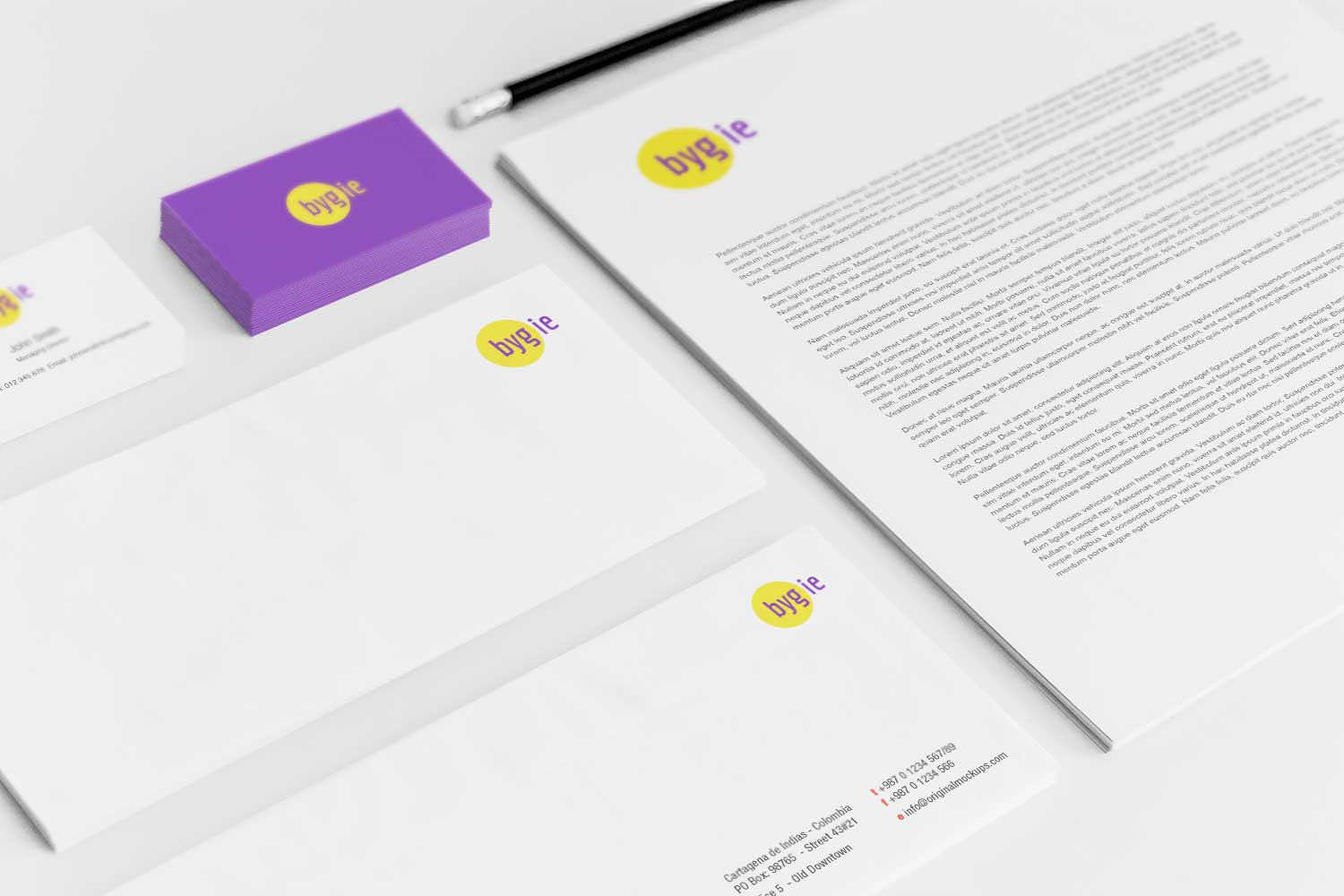 Sample branding #3 for Bygie