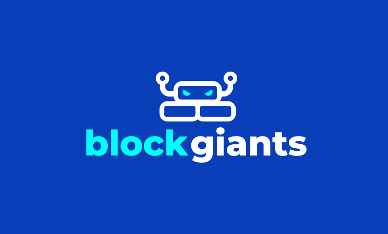 Blockgiants - A massive crypto related domain name