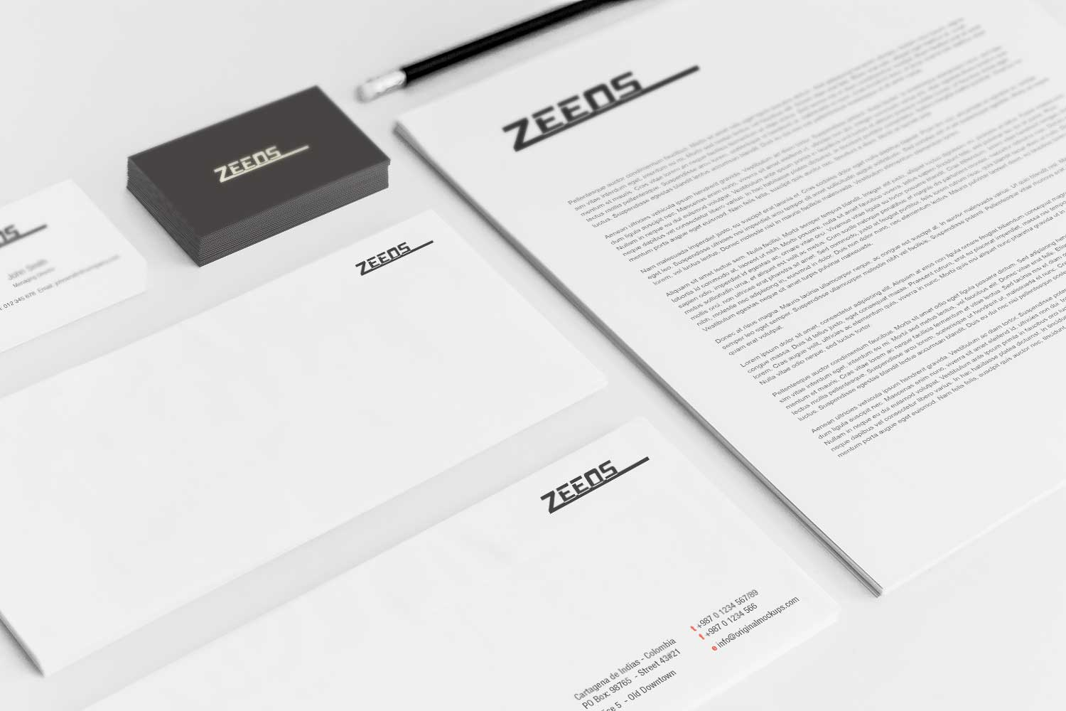 Sample branding #3 for Zeeos