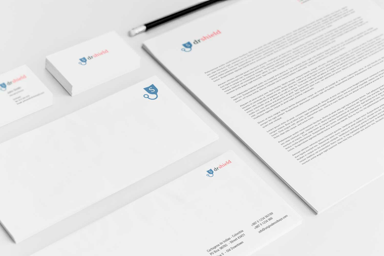 Sample branding #3 for Drshield