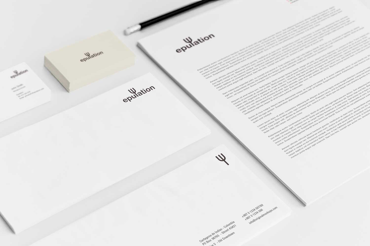 Sample branding #2 for Epulation