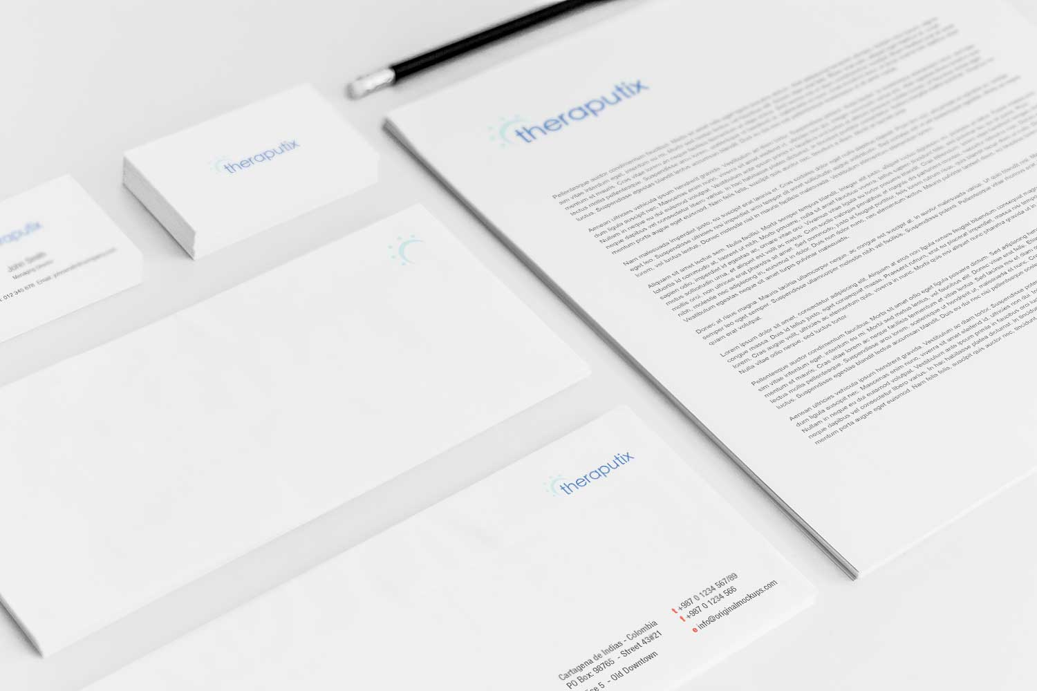Sample branding #3 for Theraputix