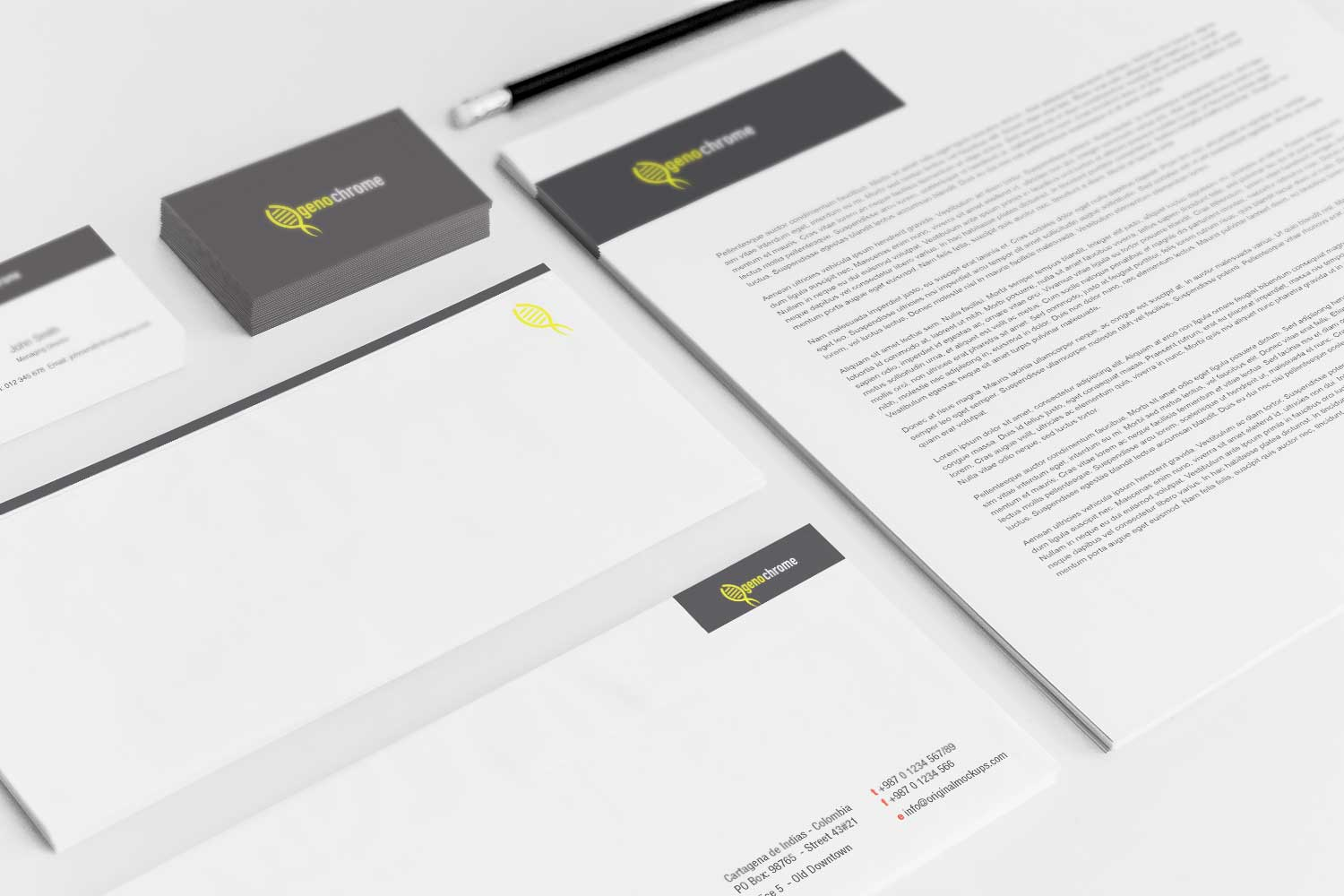 Sample branding #3 for Genochrome