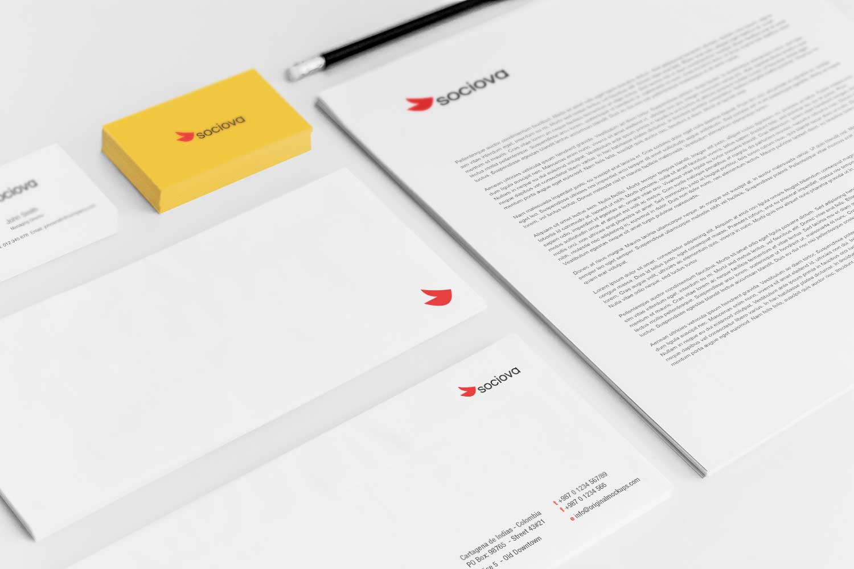 Sample branding #3 for Sociova