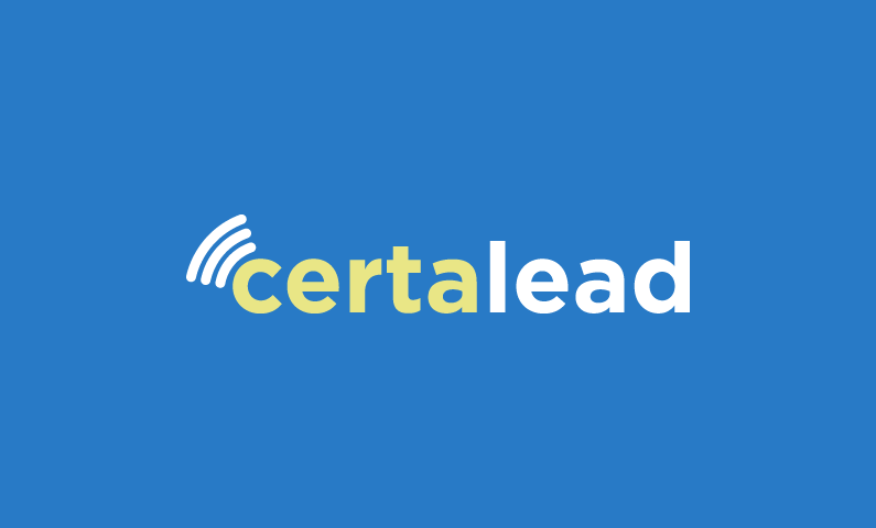 Certalead - Ideal name for a sales app