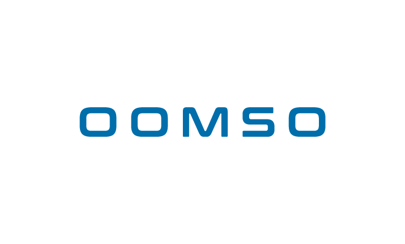 oomso logo - Modern 5-letters business name