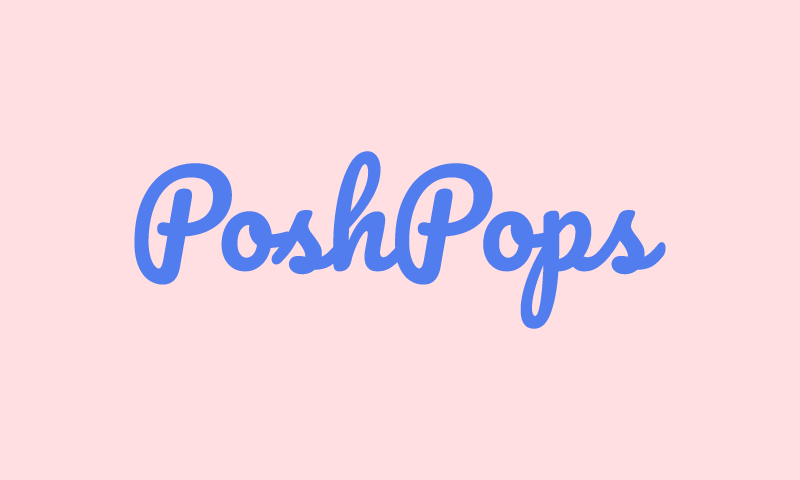 Poshpops - Food and drink brand name for sale