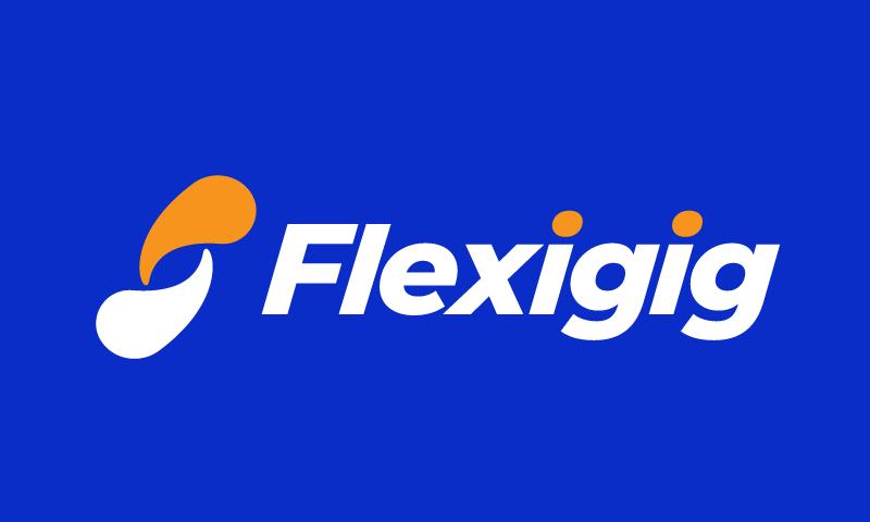 Flexigig - Retail domain name for sale