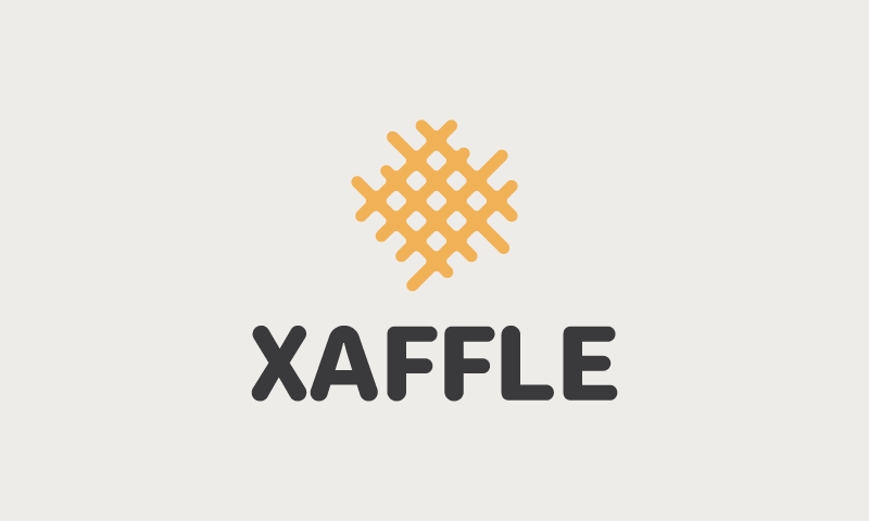 Xaffle - Contemporary company name for sale