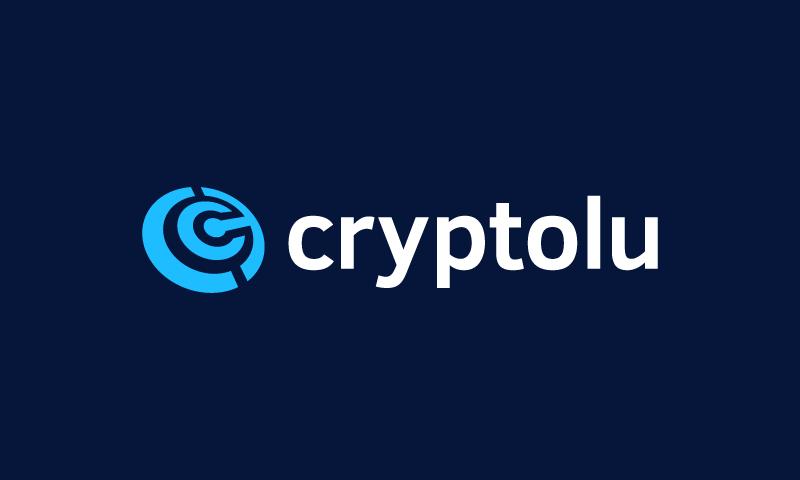 Cryptolu - Cryptocurrency company name for sale