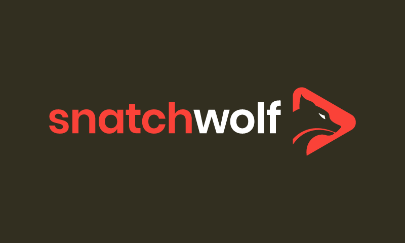Snatchwolf - E-commerce domain name for sale