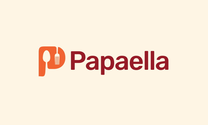 Papaella - Food and drink startup name for sale