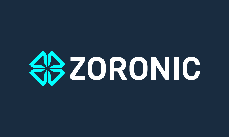 Zoronic - Music domain name for sale