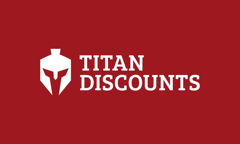 Titandiscounts - E-commerce company name for sale
