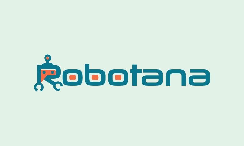 Robotana - Robotics company name for sale