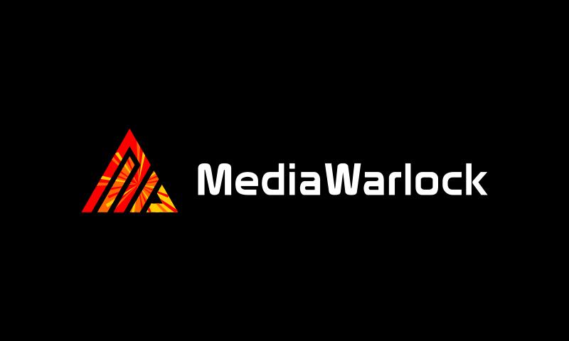 Mediawarlock - Media business name for sale