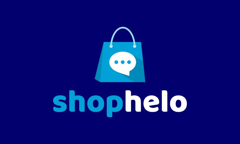 Shophelo - E-commerce business name for sale