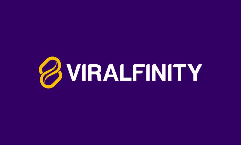 Viralfinity - Media domain name for sale