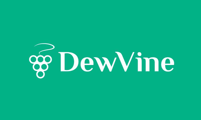 Dewvine - Social company name for sale
