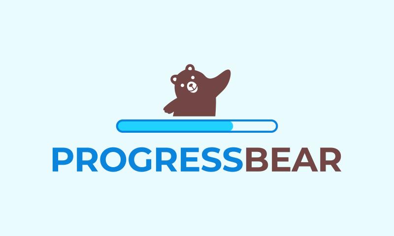Progressbear - Appealing business name for sale