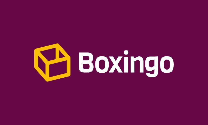 Boxingo - Storage startup name for sale