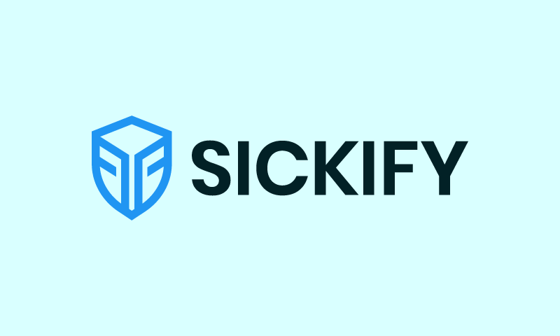 Sickify - Retail startup name for sale