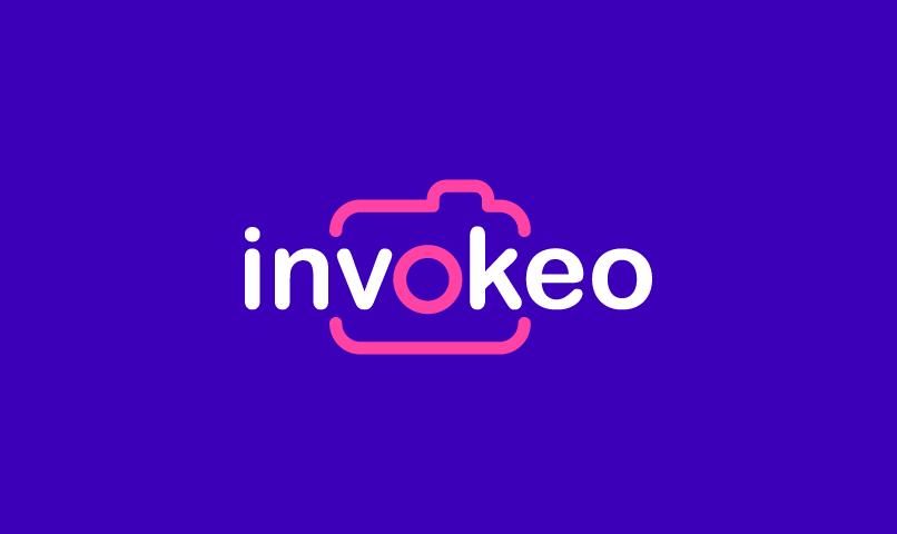 Invokeo - Modern company name for sale