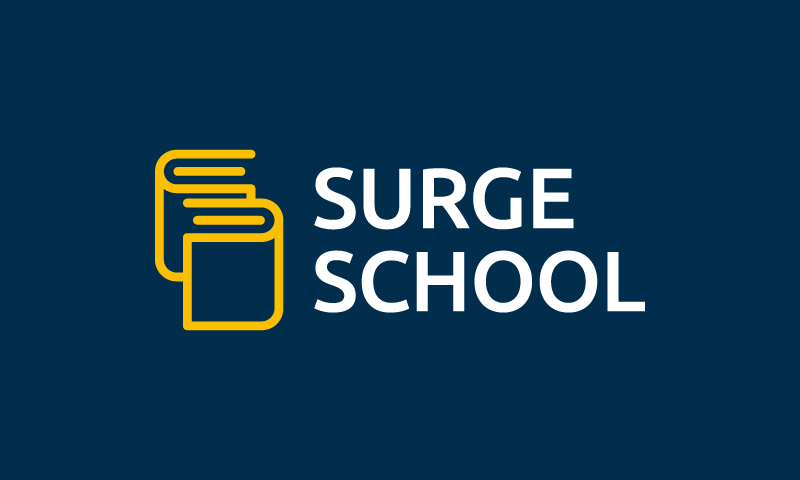Surgeschool - E-learning brand name for sale