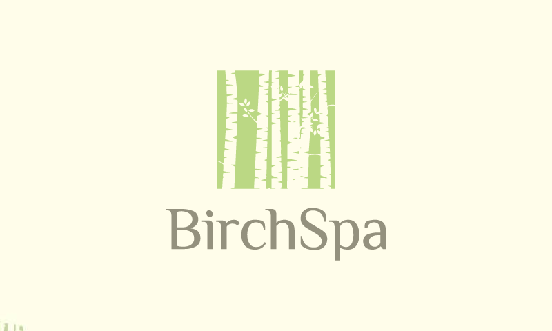 Birchspa - Wellness company name for sale