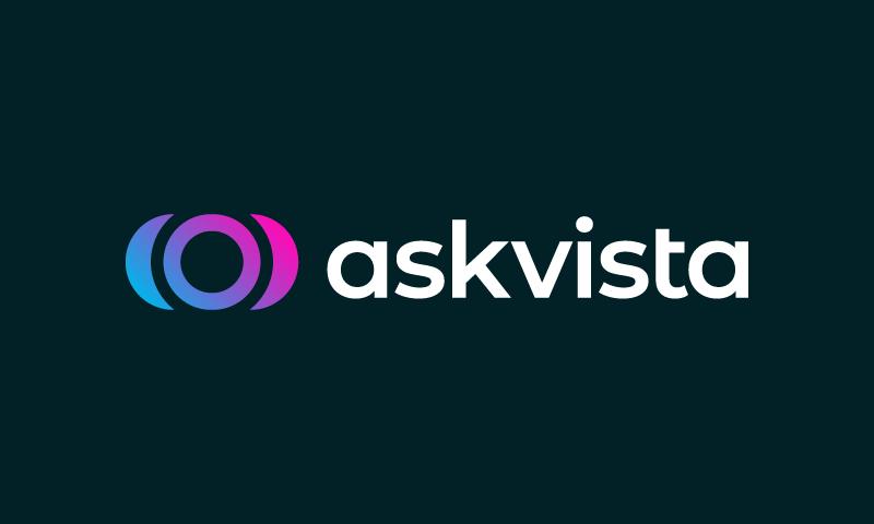Askvista - Technology brand name for sale