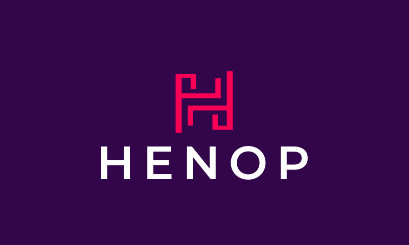 Henop - E-commerce business name for sale