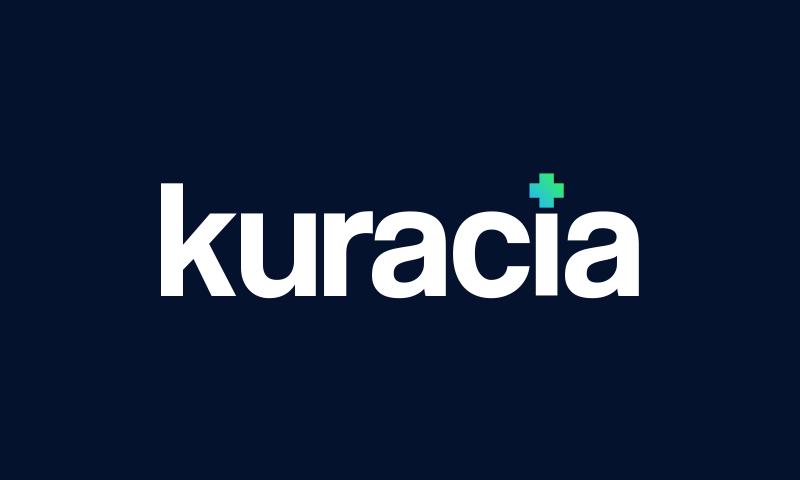 Kuracia - Retail startup name for sale