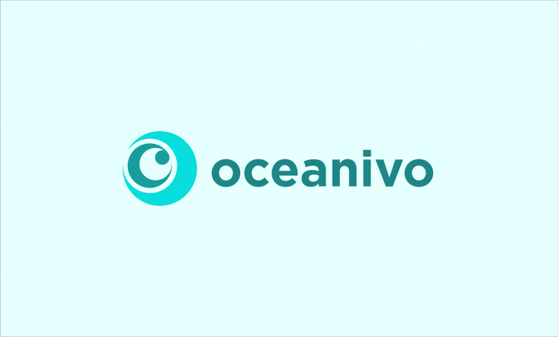 Oceanivo - Modern business name for sale