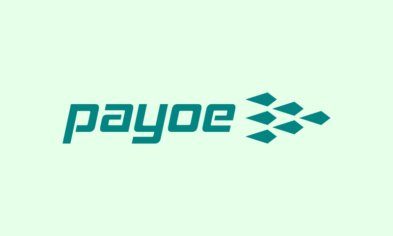 Payoe - Banking company name for sale