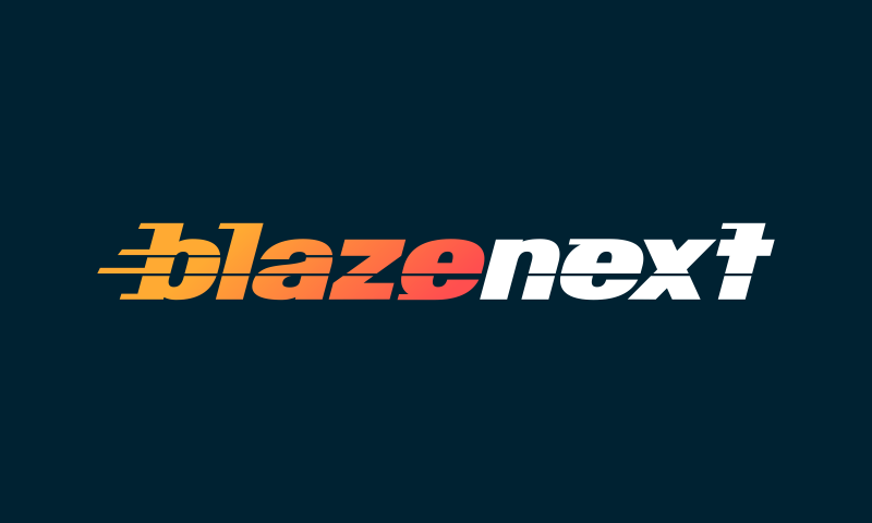 Blazenext - Media brand name for sale