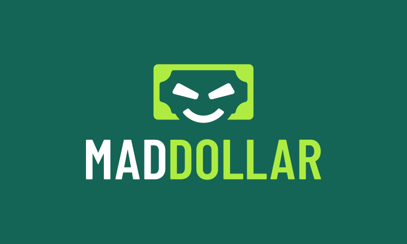 Maddollar - Finance startup name for sale