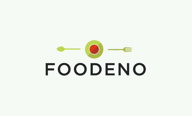 foodeno logo - A domain to get your teeth into