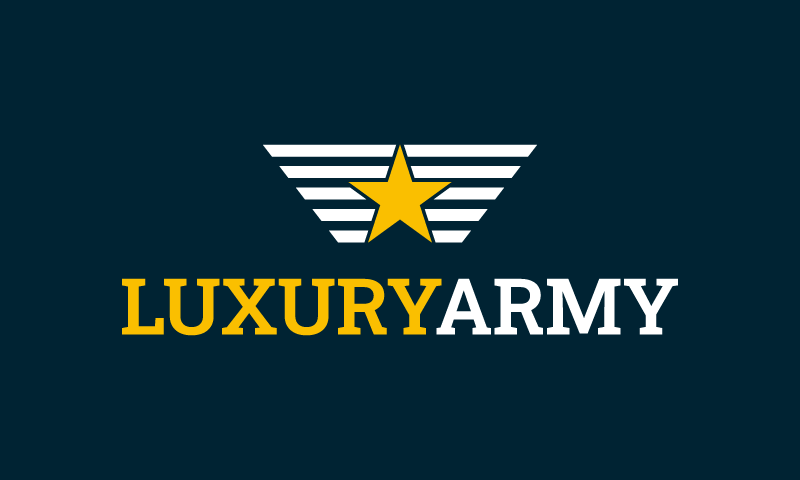 Luxuryarmy - Possible brand name for sale