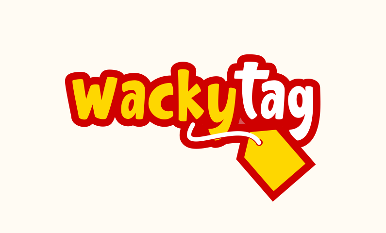 Wackytag - E-commerce domain name for sale