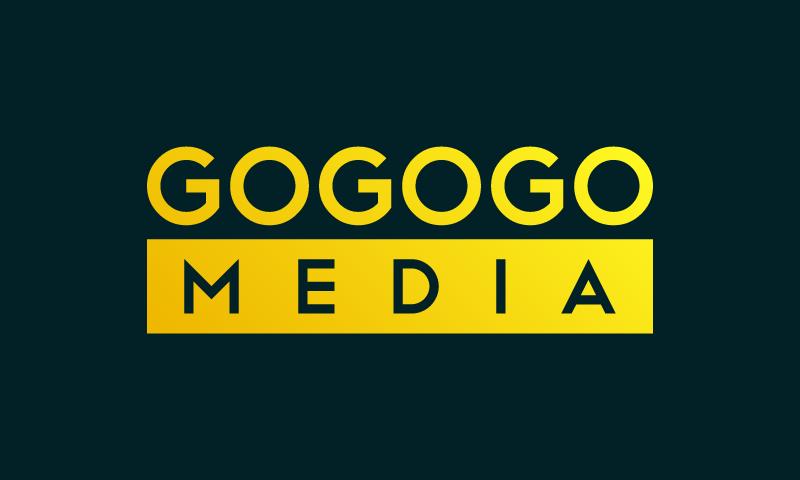 Gogogomedia - Media startup name for sale