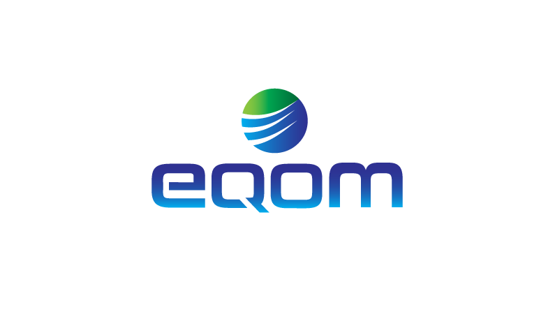 Eqom - Clean modern domain name