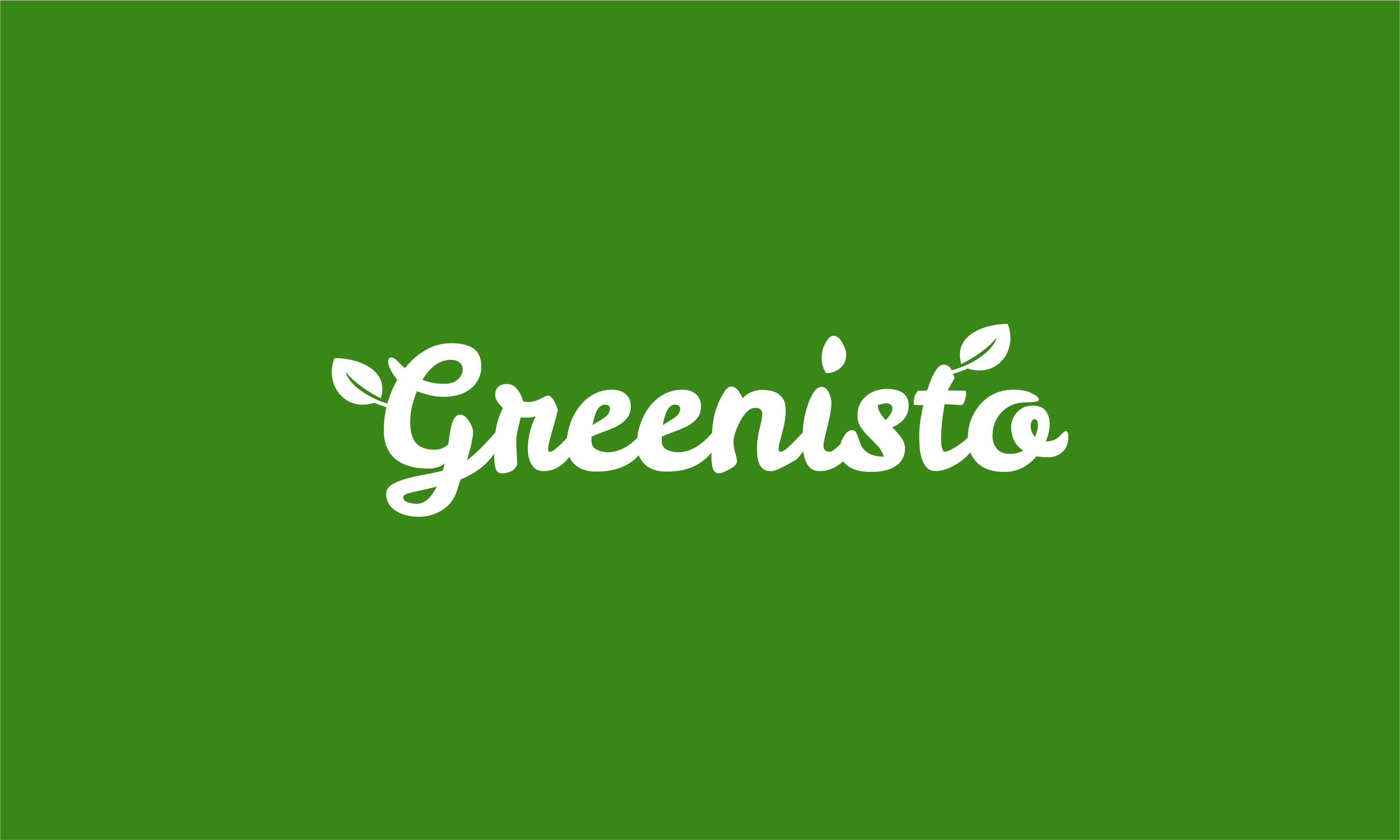 Greenisto - Green industry startup name for sale