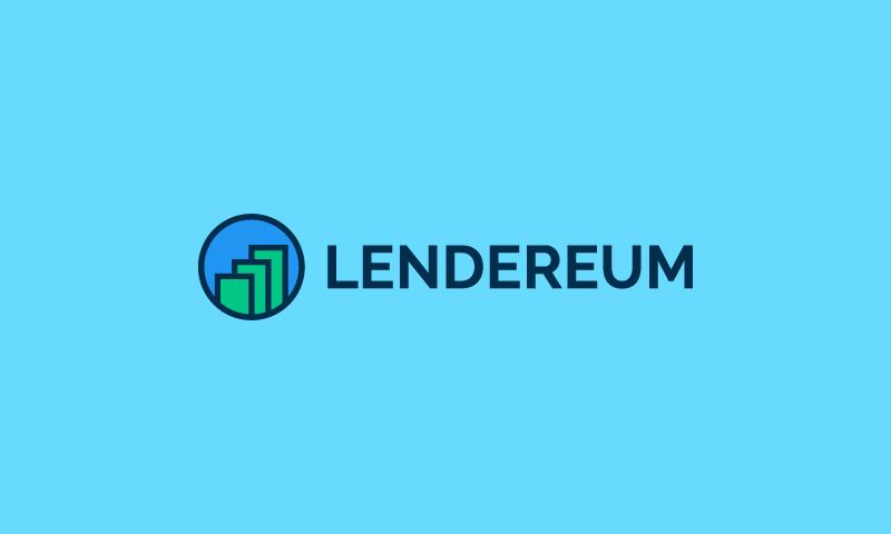 Lendereum - Loans company name for sale
