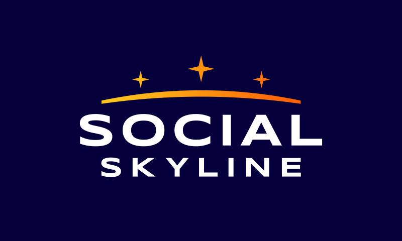 Socialskyline - Social company name for sale